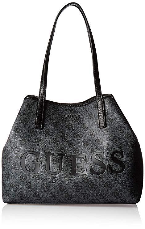 c06bb00d005c Dámská kabelka Guess Vikky tote black