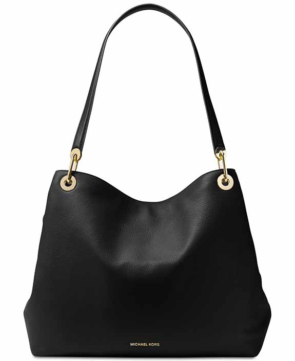 4899629226 Michael Kors kabelka Raven extra-large shoulder tote black