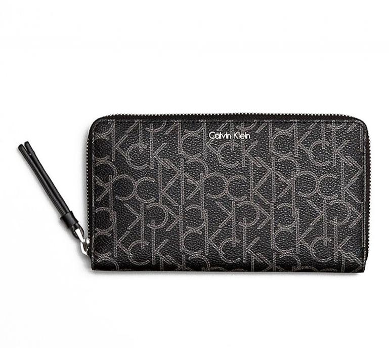 7217bc4e0e5 Calvin Klein peněženka Tina logo black