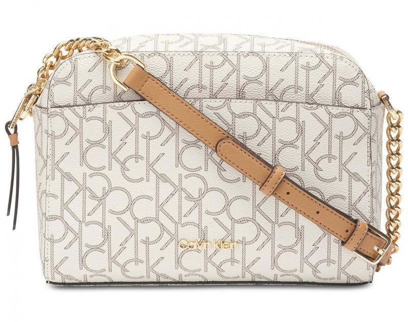 Calvin Klein kabelka Hayden crossbody vanilla almond  81e1747656e