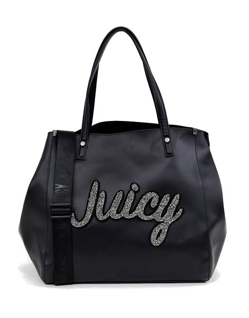 b95a893c0 Juicy Couture velká černá kabelka přes rameno | Juicy Couture ...