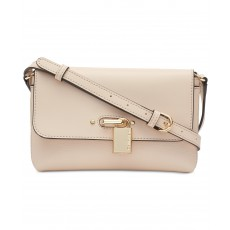 Calvin Klein crossbody Roxy leather light sand