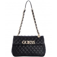 Guess sweet candy flap kabelka black gold