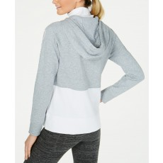 Calvin Klein Performance colorblock mikina pearl grey heather combo