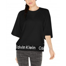 Calvin Klein Performance mikinový top black