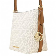 Michael Kors Kimberly small bucket bag vanilla