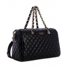 GUESS Sweet Candy satchel black/gold