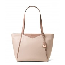 Michael Kors Whitney large leather soft pink/fawn