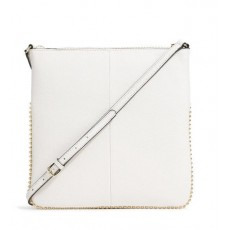 Karl Lagerfeld bouquet crossbody kabelka white