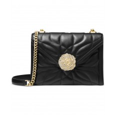 Michael Kors Whitney quilted leather crossbody bag black