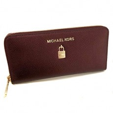 Michael Kors peněženka Giftables Adele leather merlot