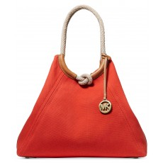 Michael Kors Isla ring tote red