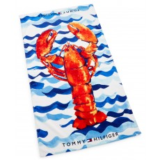 Tommy Hilfiger plážová osuška lobster orange