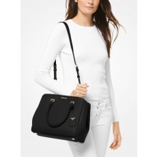 Michael Kors kabelka Benning large leather black