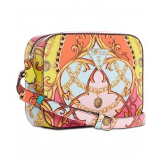 GUESS Kamryn crossbody optic coral multi