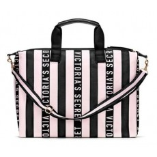 Victoria´s Secret Overnight weekender tote pink/black 2019