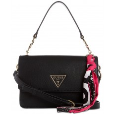 GUESS Analise flap crossbody black