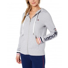 Tommy Hilfiger mikina French Terry dove heather