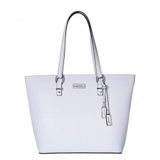 Calvin Klein kabelka leather saffiano ice blue