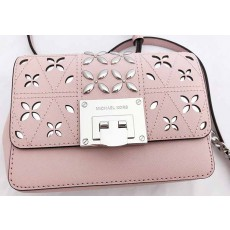 Michael Kors Tina crossbody small leather blossom pink