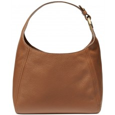 Kabelka Michael Kors Fulton large leather hobo luggage hnědá