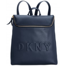 DKNY batoh Tilly logo top zip navy