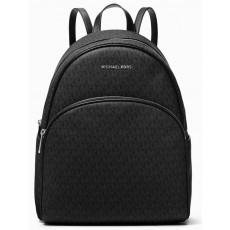 Michael Kors batoh Abbey large backpack logo black