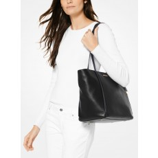Michael Kors Whitney large leather tote černá