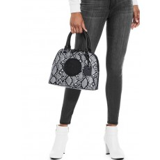 Guess kabelka Thornton logo dome satchel python
