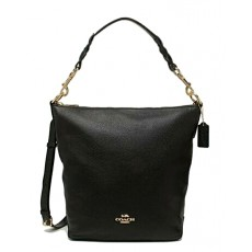Coach kabelka Abby shoulder bag black F67025
