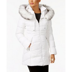 Dámská bunda Laundry by Shelli Segal puffer coat white