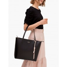 Kate Spade kabelka Lawton way rose tote black