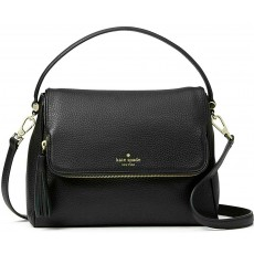Kate Spade crossbody Chester street pebbled leather black