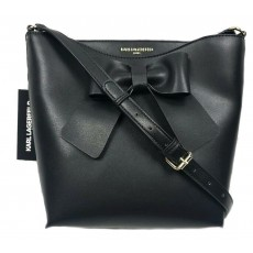 Karl Lagerfeld crossbody kabelka bow black
