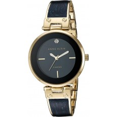 Hodinky Anne Klein Diamond black/gold