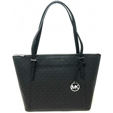 Michael Kors Ciara east west large signature black
