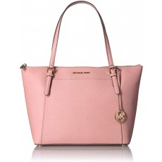 Michael Kors Ciara east west large saffiano pale pink