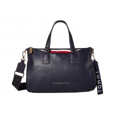 Tommy Hilfiger kabelka Walker mini shopper modrá