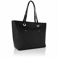 Michael Kors Walsh large saffiano leather tote black