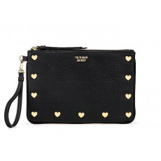 Victoria´s Secret pouch wristlet black star