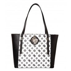 Guess kabelka open road tote black multi