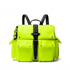 Michael Kors batoh Olivia medium satin neon
