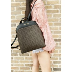 Michael Kors batoh Emmy large brown/black