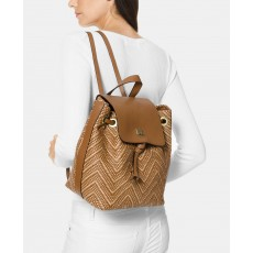 Michael Kors batoh Junie medium backpack woven-acorn