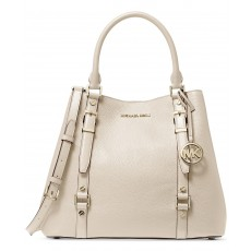 Kabelka Michael Kors Bedford Legacy large pebbled leather tote light sand