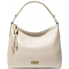 Michael Kors kabelka Lexington large pebbled leather light sand