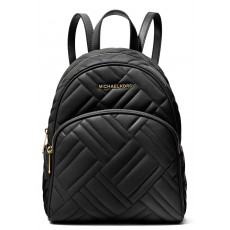 Michael Kors batoh Abbey medium quilted leather černý