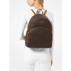 Michael Kors batoh Abbey large backpack brown