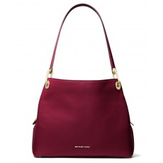 Michael Kors kabelka Raven large leather berry