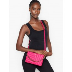 Victoria´s Secret crossbody kabelka qulited hot pink